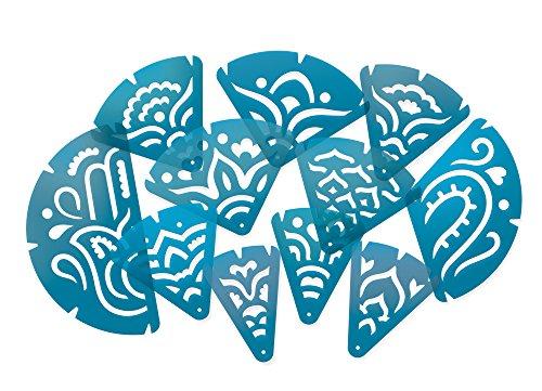Mandala Fraction Stencils