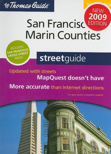 The Thomas Guide San Francisco & Marin Counties Streetguide (San Francisco and Marin Counties Street Guide)