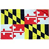 Maryland 3ft x 5ft Printed Polyester Flag State 3x5