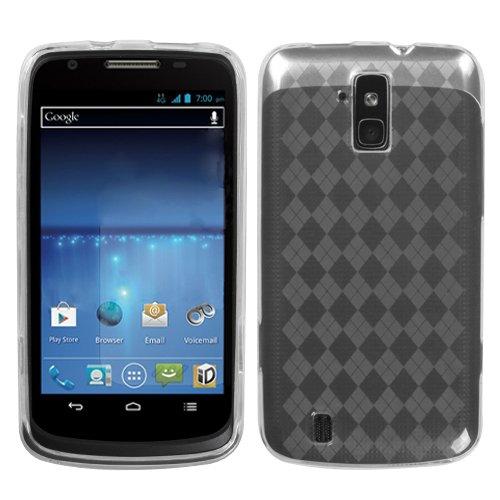MyBat Argyle Pane Candy Skin Cover for ZTE N9100 (Force) - Retail Packaging - (Argyle Candy Skin Cover)