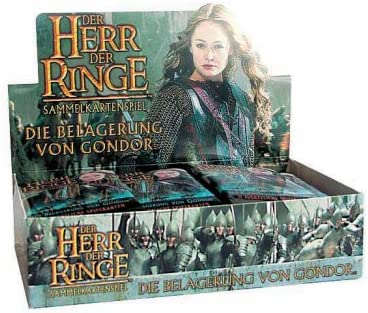 Lord of the Rings Trading Card Game Siege of Gondor Booster Box