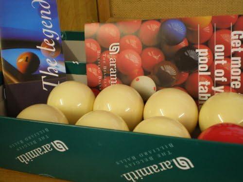 Bar Billiard Tables -Belgium Aramith Bar Billiards Balls ; 7 white & 1 red ; all 1 7/8 inch by SGL: Amazon.es: Deportes y aire libre