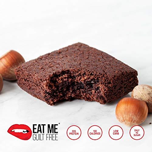 Healthy High Protein, Low Carb, Flourless Hazelnut Brownie Snack Box