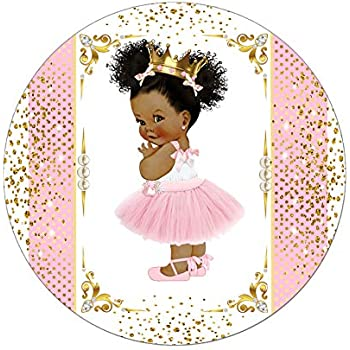 Amazon.com: African American Princess Cake Toppers ...