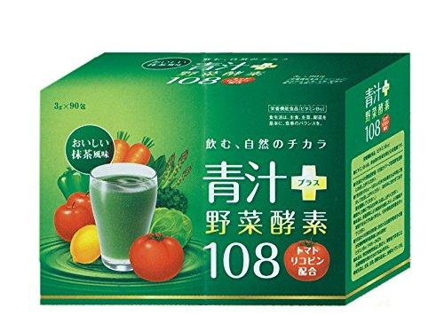 青汁プラス酵素108 3g 90包入 B014VPSM04