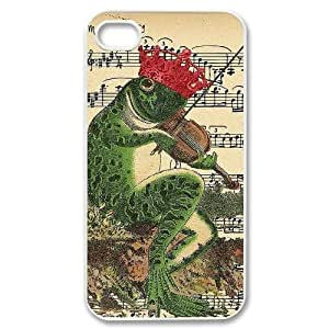 High-quality Case for iPhone 4, iPhone 4s w/ Kiss me Frog image at Hmh-xase (style 5) by waniwa