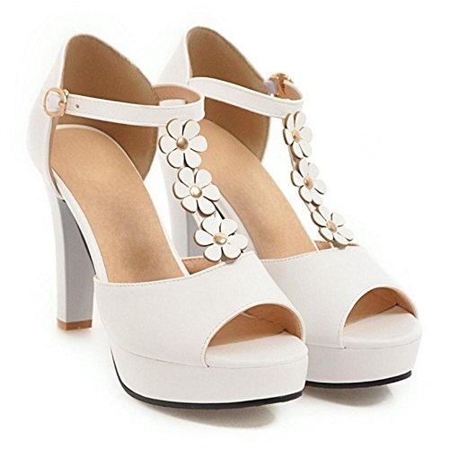 Tacco JOJONUNU Moda Donna Chunky Sandali 11r8Unx