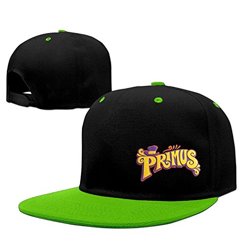 Men Primus Rock Band Logo The Chocolate Factory Custom Contrast Baseball Hats