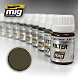 Ammo of Mig Jimenez Dark Grey for White Filter 30ml #1502