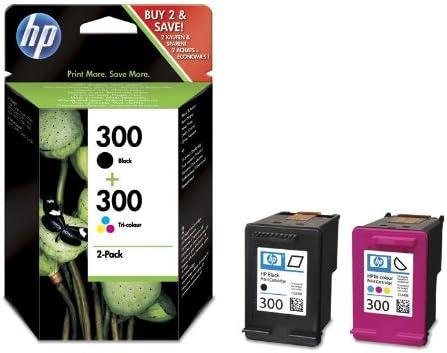 HP 300 - Cartucho de tinta: Amazon.es: Oficina y papelería