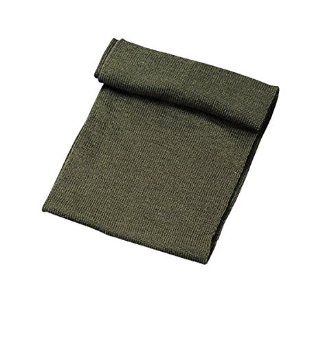 G.I. Olive Drab Wool Scarf, One - Scarf Wool
