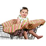 Pam Grace Creations Funky Stripe Grocery Cart Cover,...