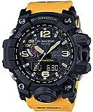 Casio G-Shock Mudmaster Black Dial SS Chrono Quartz Men's Watch GWG1000-1A9