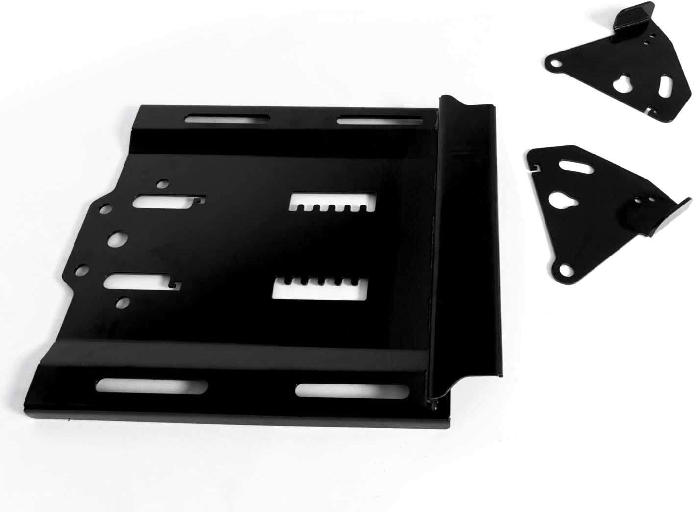 "4 Seat 2016+ SuperATV Seat Lowering Base for Polaris RZR XP Turbo//XP Turbo S Lowers Seat by 1.5/"" with Front to Back Adjustability"