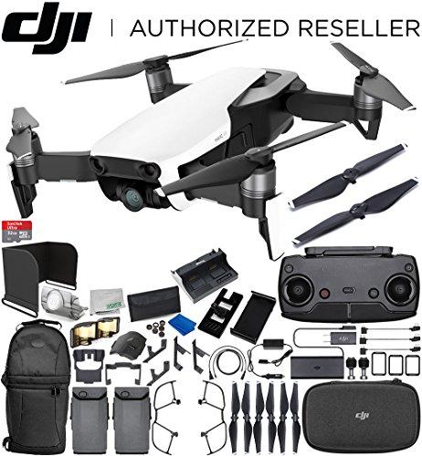 DJI Mavic Air Drone Quadcopter (Arctic White) 2-Battery Ultimate Bundle