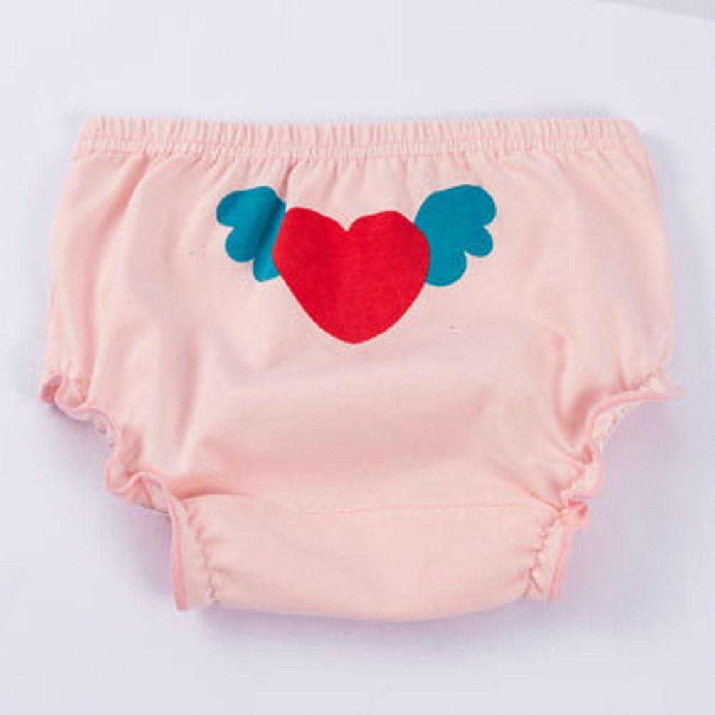 Stil1 Eule , 80 JEELINBORE Baby M/ädchen R/üschen Unterhosen Ruffle Panties Briefs H/öschen Unterw/äsche f/ür 1-5 Jahre 3er Pack 3PCS
