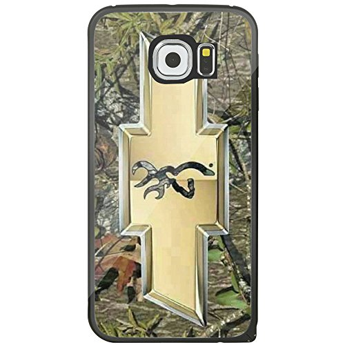 Chevy Logo with a Deer on the Inside for Iphone and Samsung Galaxy (Samsung Galaxy s6 black)
