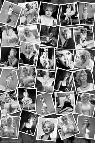 MARILYN MONROE - COLLAGE NEW 24X36 POSTER PRINT