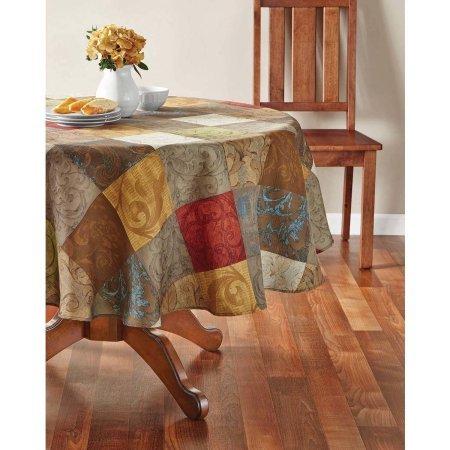 Mainstays Tuscany Fabric Tablecloth, 70