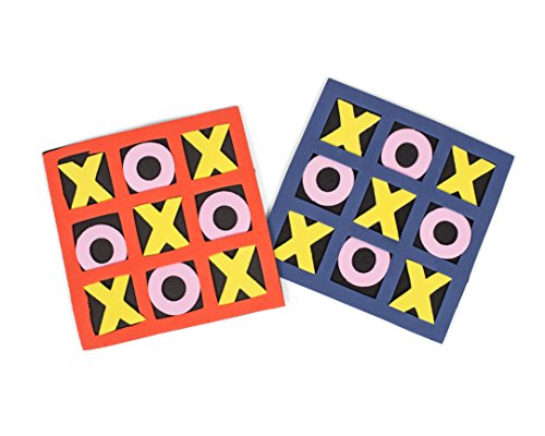 Neliblu Fun Party Favors - Foam Tic-Tac-Toe Games