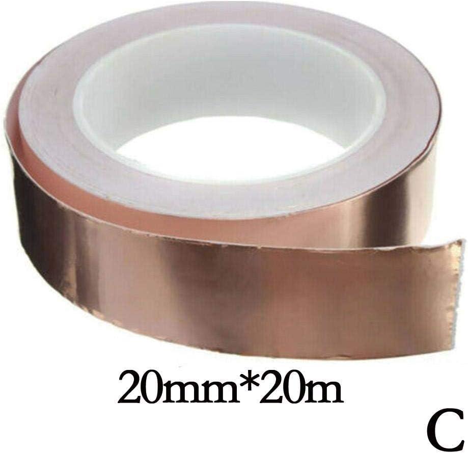 20m Pure Copper Foil Tape Eliminating EMI Isolating Harm Electromagnetic