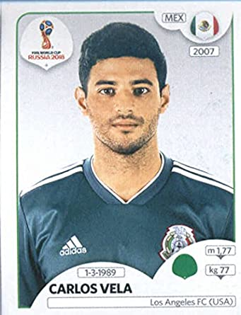 2018 Panini World Cup Stickers Russia  469 Carlos Vela Mexico Soccer Sticker c92d2357b