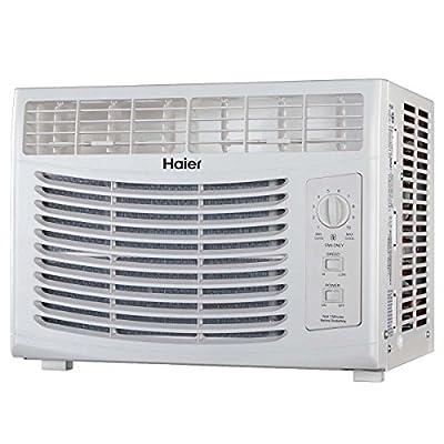 Haier 5100 BTU 115V Window Mounted Air Conditioner AC Unit with Fan | HWF05XCR-T