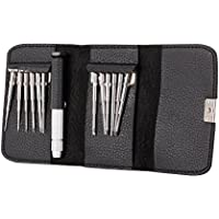 Goolsky 13 in 1 Screwdriver Kit with Leather Bag and Magnetic Screw Plate for DJI Spark Mavic Pro Phantom 4 Drone