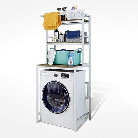 Estante de la lavadora Estante for lavadora tipo riel for ropa ...