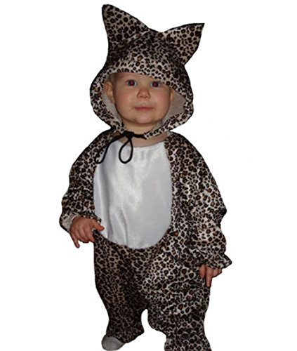 Fantasy World Leopard Halloween Costume f. Toddlers, Size: 12-18mths, (Bodysuit Costume Party City)