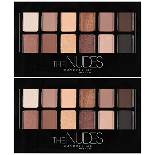 Maybelline New York The Nudes Eyeshadow Makeup Palette, 2 Co