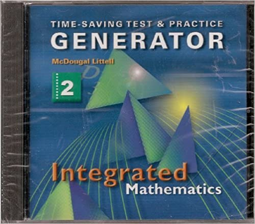 Amazon.com: McDougal Littell Integrated Math: Test and Practice ...