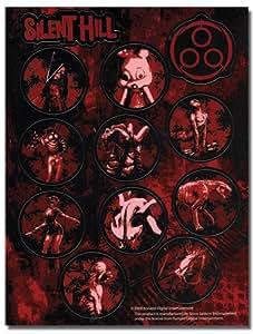 1 X Silent Hill Homecoming Monster Sticker Sheet Set
