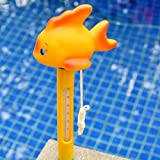 Carton Animal Baby Bath Swimming Pool Spa Floating Tub Thermometer Water Temperature Meter - (Animal: Gold Fish)