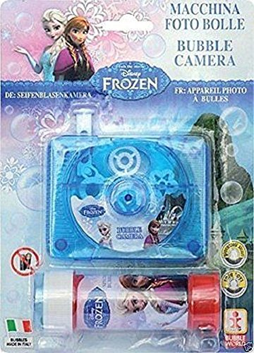 Henbrandt Frozen Bubble Camera Play Kids Toy Party Bag Filler Fun Disney Movie -