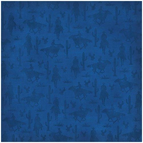 Karen Foster Design Scrapbooking Paper, 25 Sheets, Horse and Rider, 12 x 12
