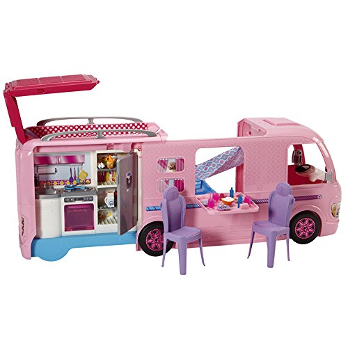 Barbie Van Pop Up Camper Duplex Vehicle Transforming