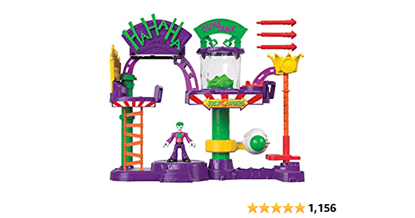 Fisher-Price IMAGINEXT DC Super Friends The Joker Laff Factory, Multi Color, Model:GBL26