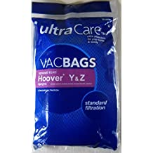 UltraCare Vacuum Bags Hoover Type Y, Z Upright Vacuum Bags