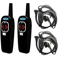 Mini Walkie Talkies Two Way Radio YC-02DP 22CH FRS GMRS UHF 400-470MHz Ham FM Transceiver