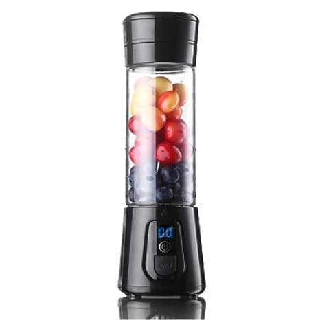 HhGold Exprimidor Mini Home automático sin residuos de Jugo de la máquina Eléctrico portátil de Frutas