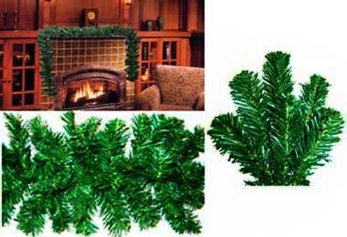 12 x 9 Norway Pine Artficial Christmas Tree Garland ()