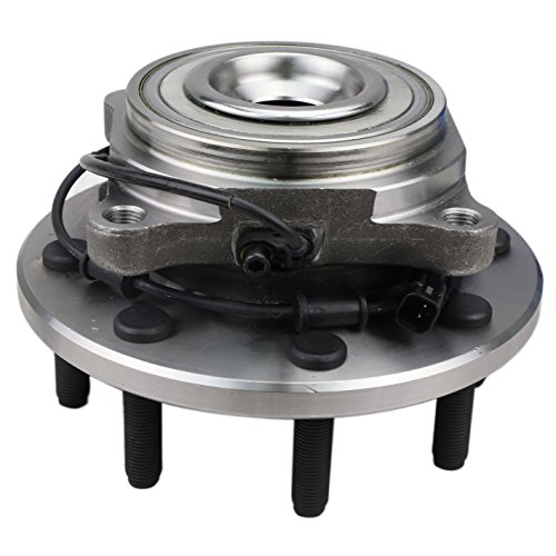 CRS NT590466 New Wheel Bearing Hub Assembly, Front Left (Driver)/ Right (Passenger), for 2012-2014 Dodge RAM 3500/2500, 2012-2015 RAM 3500/2500/ 1500, RWD, w/ABS