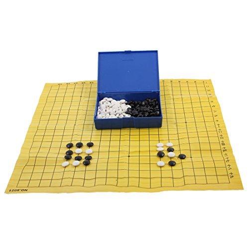 DealMux Chessman tabuleiro de xadrez porttil Treinamento Inteligente Jogo Gomoku Chess Gobang Set