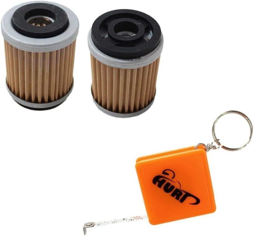 HURI 2 Oil Filter for Yamaha Bear Tracker 250 2WD YFM250