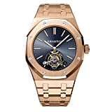 AUDEMARS PIGUET ROYAL OAK TOURBILLON 41 EXTRA THIN ROSE GOLD WATCH 265