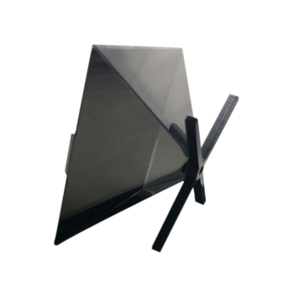 Monkeyjack 3d Prism Holographic Diy Next Generation Displays Video Play Display Pyramid Box For Iphone Samsung All 35 65 Smartphone Home Audio