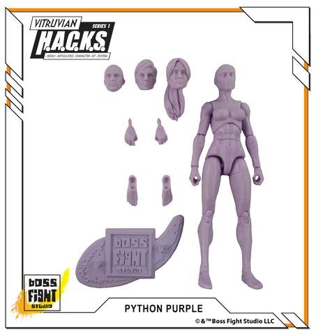 amazon com boss fight studios vitruvian h a c k s action figure