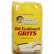 Quaker Grits Aunt Jemima Old Fashioned Bag - 80 oz by Quaker