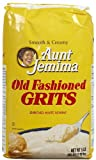 Quaker Grits Aunt Jemima Old Fashioned Bag - 80 oz (Pack of 8)